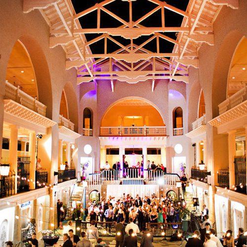 Wedding Reception at the Lightner Museum St. Augustine