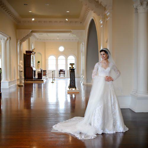 Bridal Portraits at the Lightner Museum