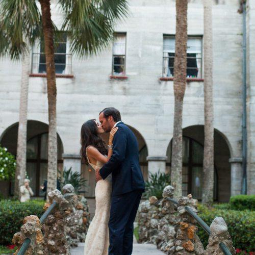 Lightner Museum Courtyard Wedding in St. Augustine
