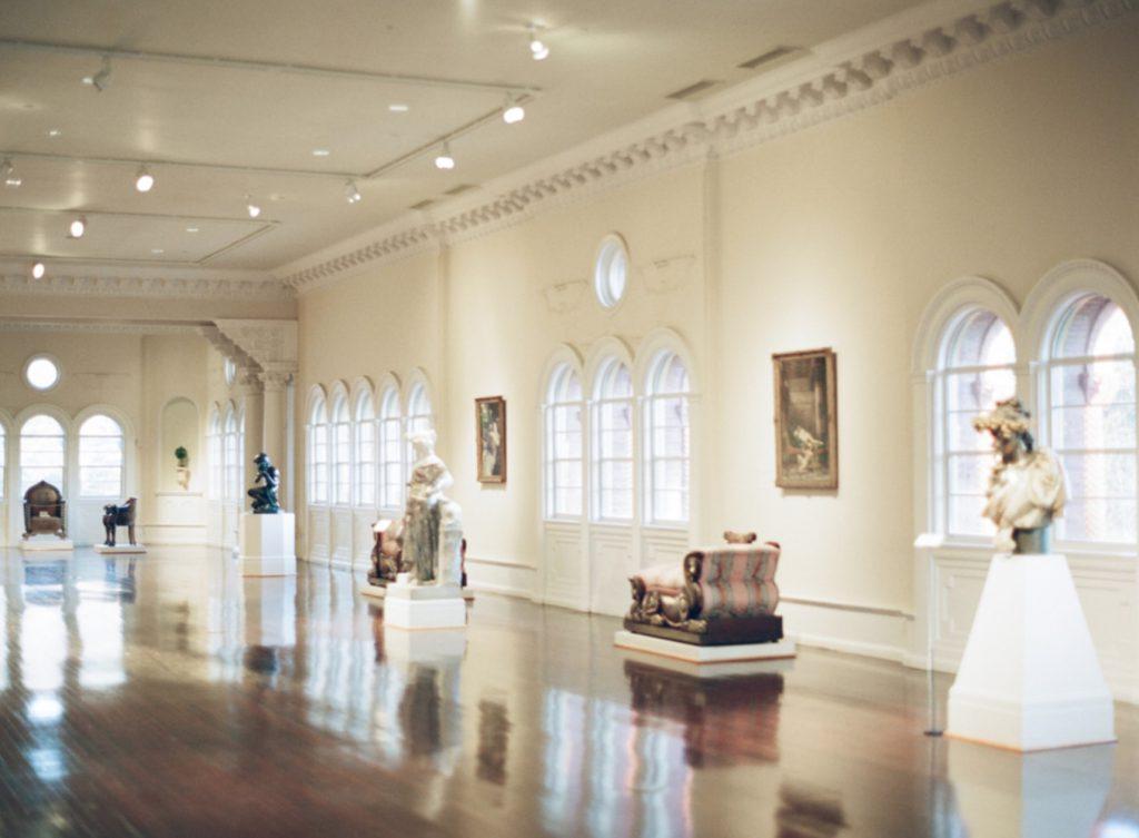 Grand Ballroom Gallery at the Lightner Museum