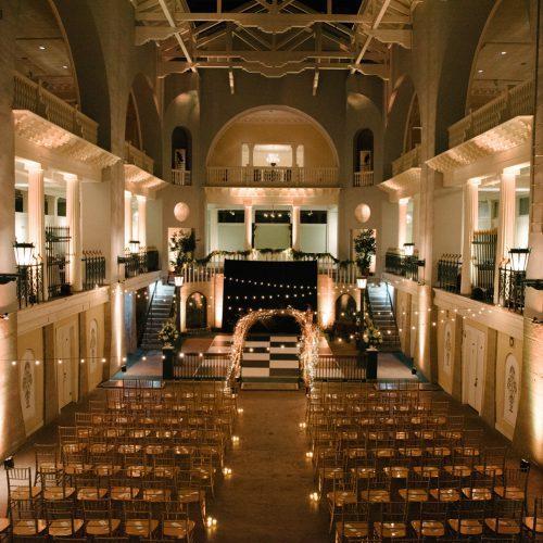 Wedding Ceremony at the Lightner Museum