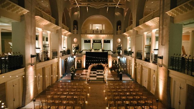 Wedding Ceremony at the Lightner Museum