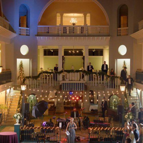 Wedding reception in St. Augustine