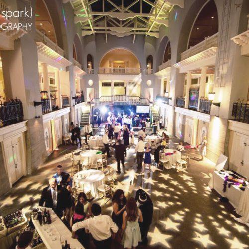 Wedding reception in St. Augustine at the Lightner Museum