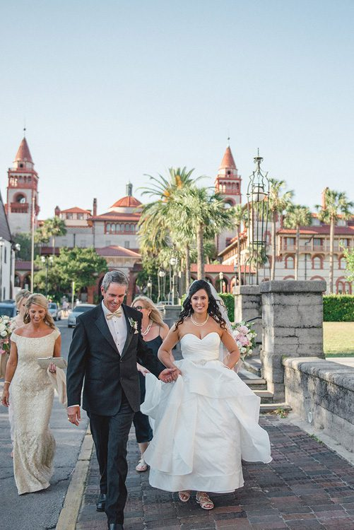 Destination Wedding in St. Augustine | Hayley + Jake | Lightner Museum Weddings