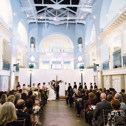 Destination Wedding in St. Augustine | Hayley + Jake | Lightner Museum Weddings