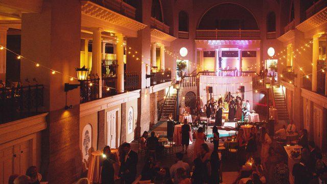 Lightner Museum Wedding Reception   St. Augustine Wedding Venue