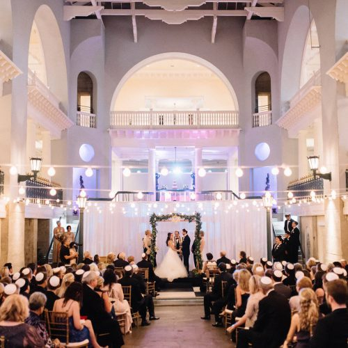 Jewish Wedding Ceremony at The Lightner Museum