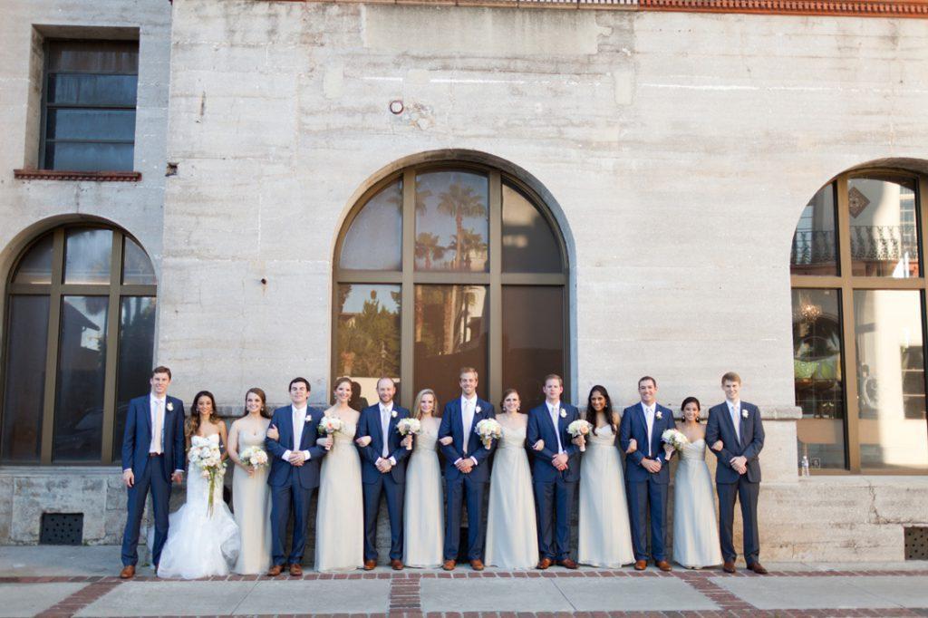 Fiorela + Colin | Lightner Museum Wedding Reception | St. Augustine Florida