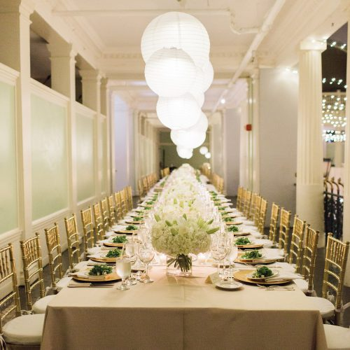 Wedding Reception on the Mezzanine of the Lightner Museum