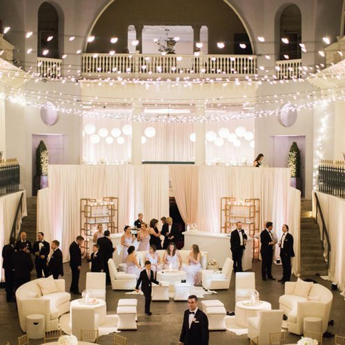 Lightner Museum Wedding Reception in St. Augustine