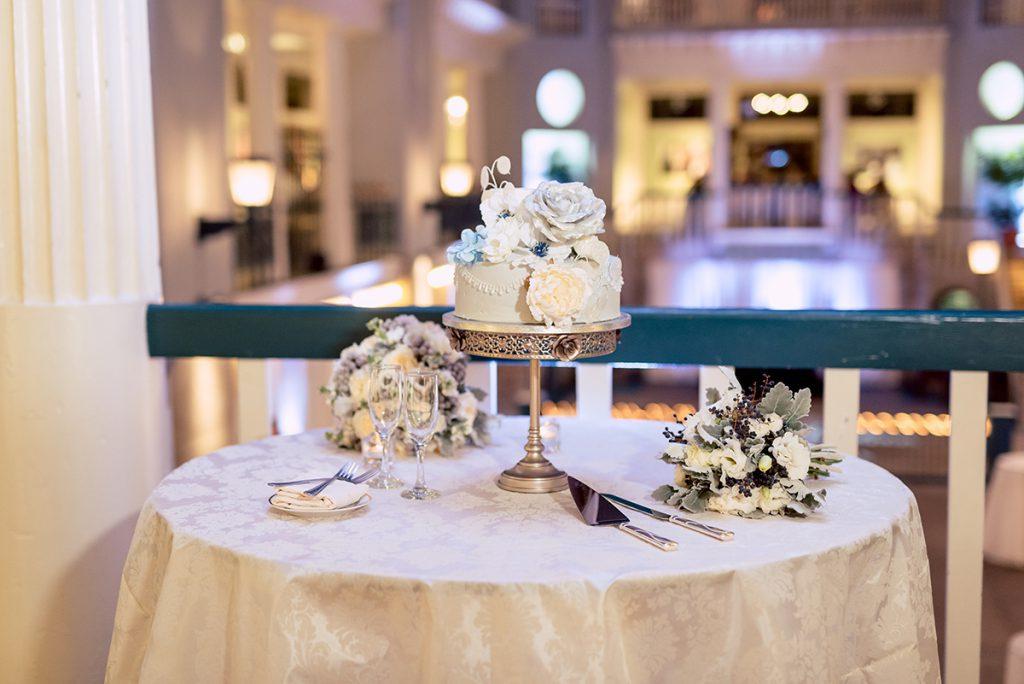 Wedding Cake | Kayla & Jonathan's Winter Wedding in St. Augustine