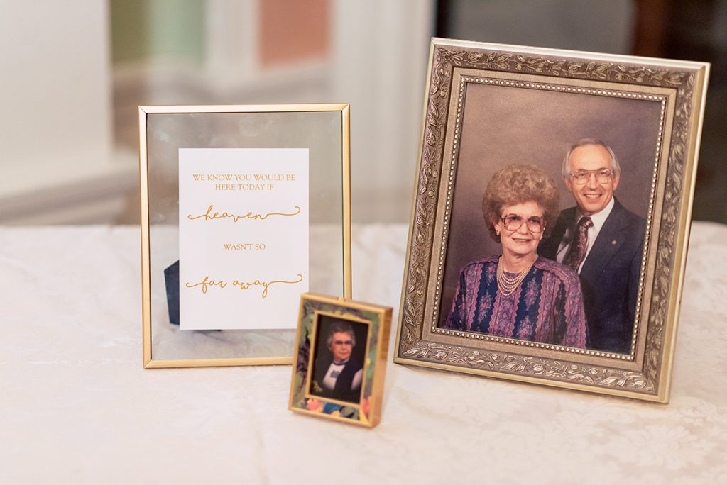 Wedding Reception Details | Kayla & Jonathan's Winter Wedding in St. Augustine