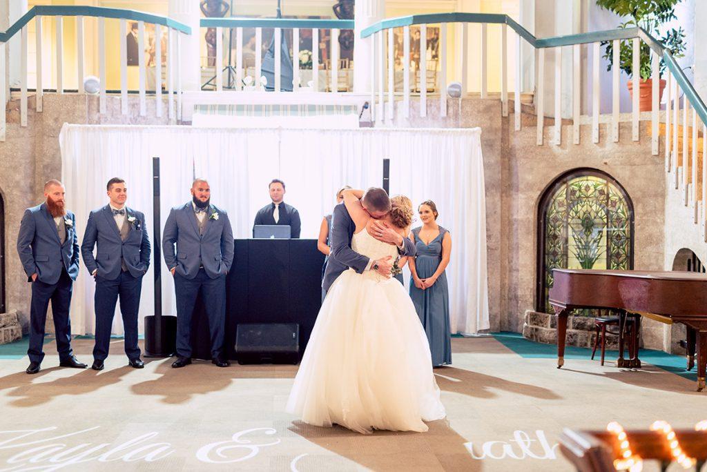 First Dance   Kayla & Jonathan's Winter Wedding in St. Augustine