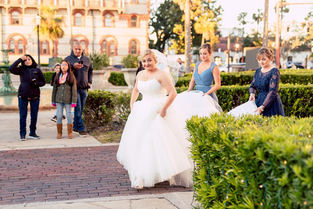 First Look   Kayla & Jonathan's winter wedding in St. Augustine at the Lightner Museum