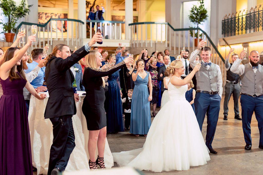 Wedding Toasts   Kayla & Jonathan's Winter Wedding in St. Augustine at the Lightner Museum