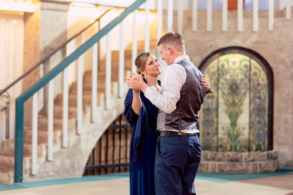 Mother-Son Dance | Kayla & Jonathan's Winter Wedding in St. Augustine