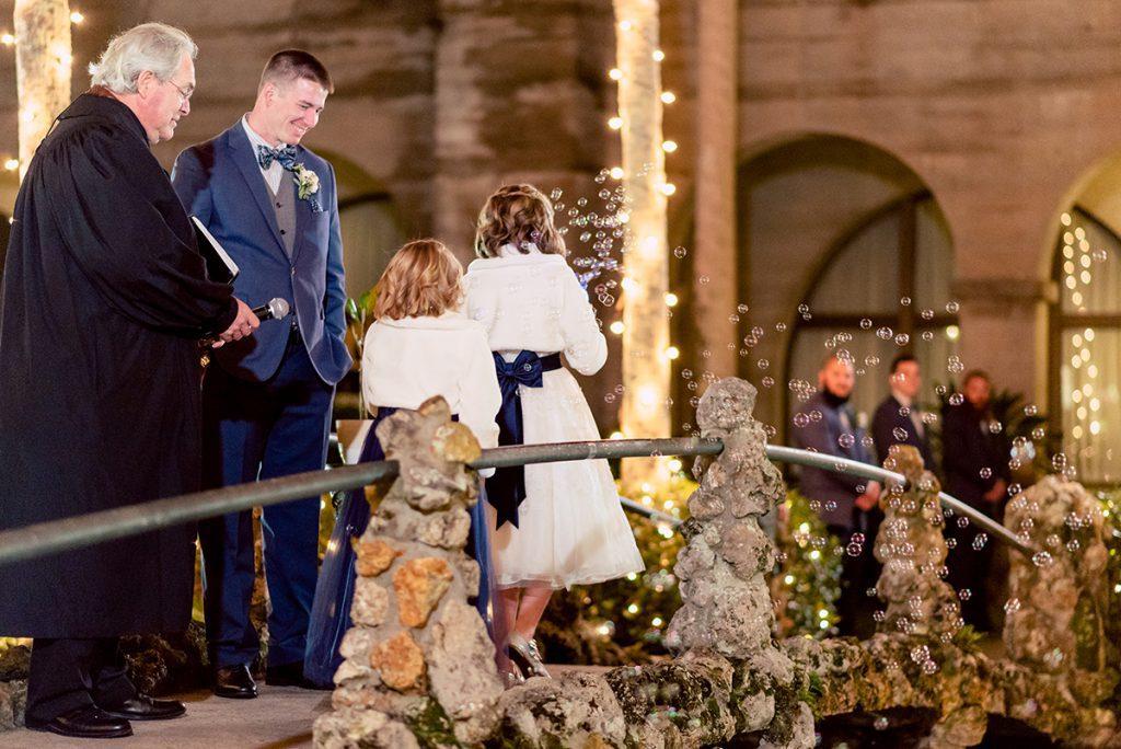 Kayla & Jonathan's Winter Wedding in St. Augustine