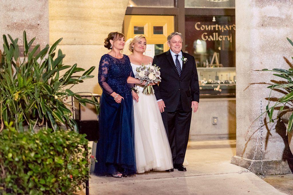 Wedding Ceremony | Kayla & Jonathan's Winter Wedding in St. Augustine