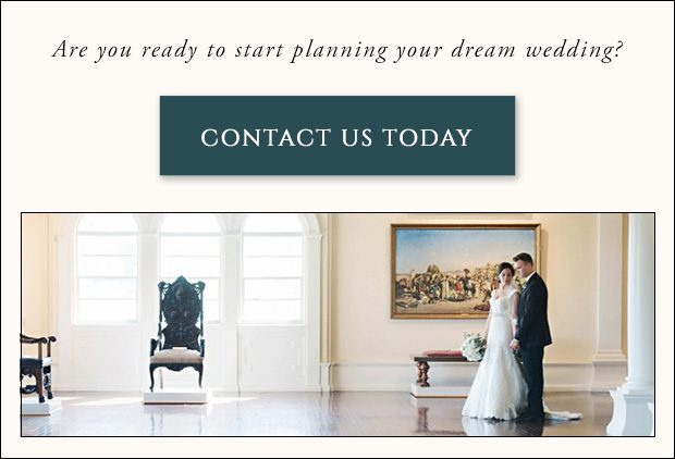 Contact the Lightner Museum to plan your dream wedding