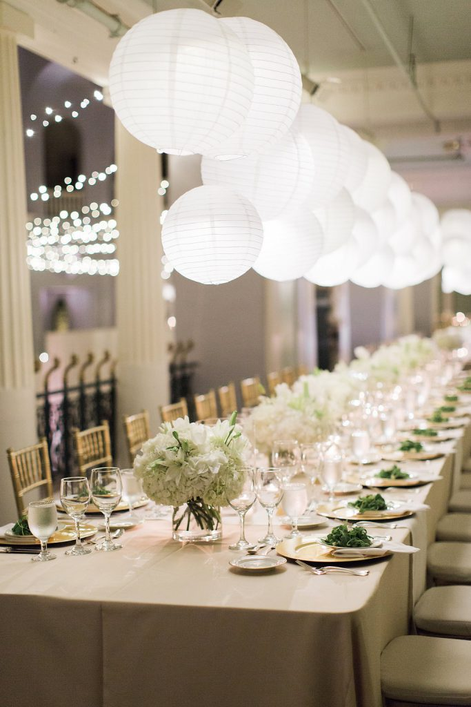 Neutral Flowers | Lightner Museum | Royal Wedding Ideas to Steal for Your Big Day