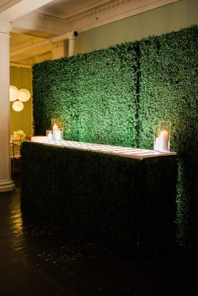 Greenery Backdrop | Lightner Museum | Royal Wedding Ideas to Steal for Your Big Day