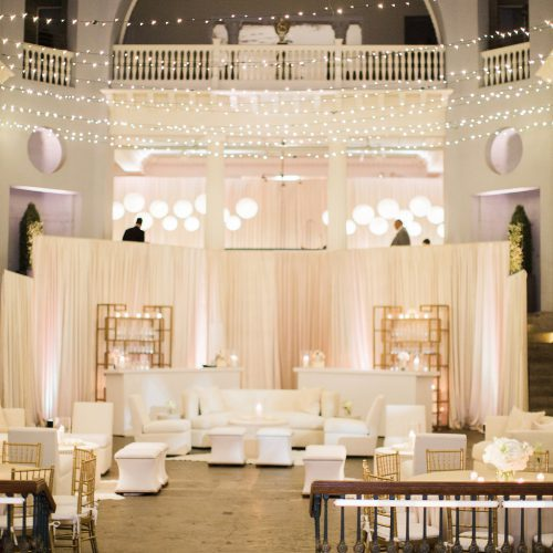 Lightner Museum Wedding Reception | Vintage Modern Wedding in St. Augustine Florida