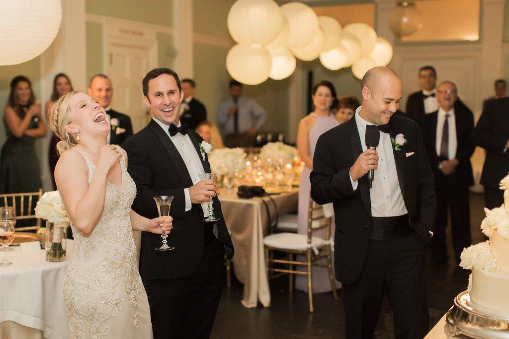 Wedding Speeches | Lightner Museum Wedding Reception | Vintage Modern Wedding in St. Augustine Florida