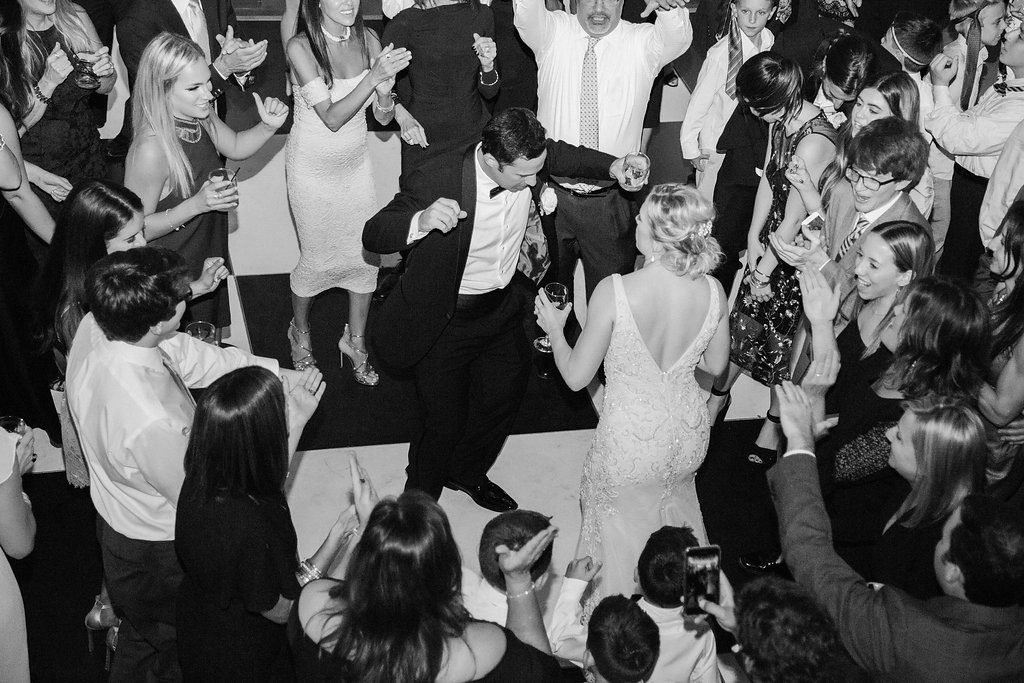 Lightner Museum Wedding Reception | Vintage Modern Wedding in St. Augustine Florida