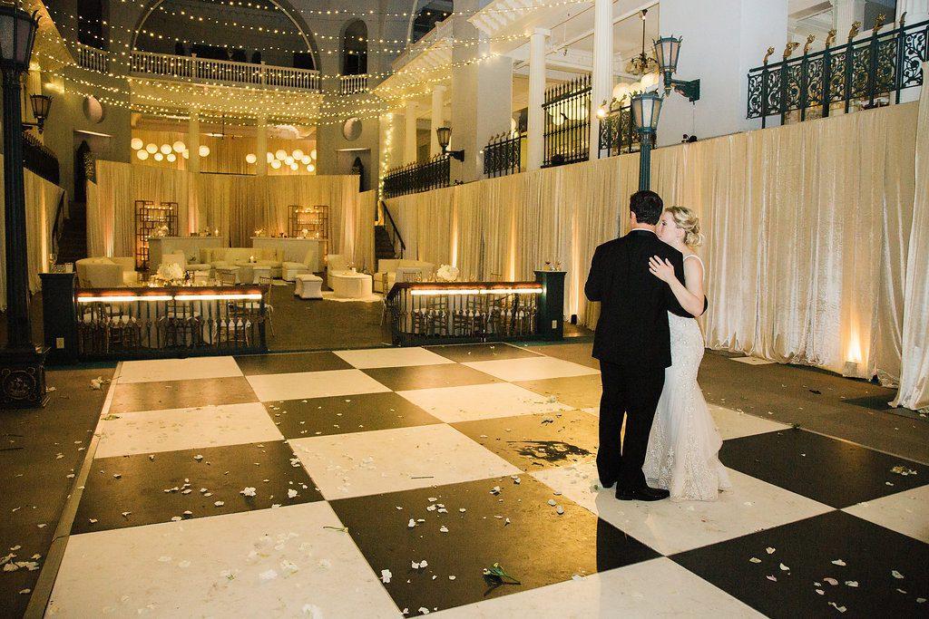 Last Dance | Lightner Museum Wedding Reception | Vintage Modern Wedding in St. Augustine Florida