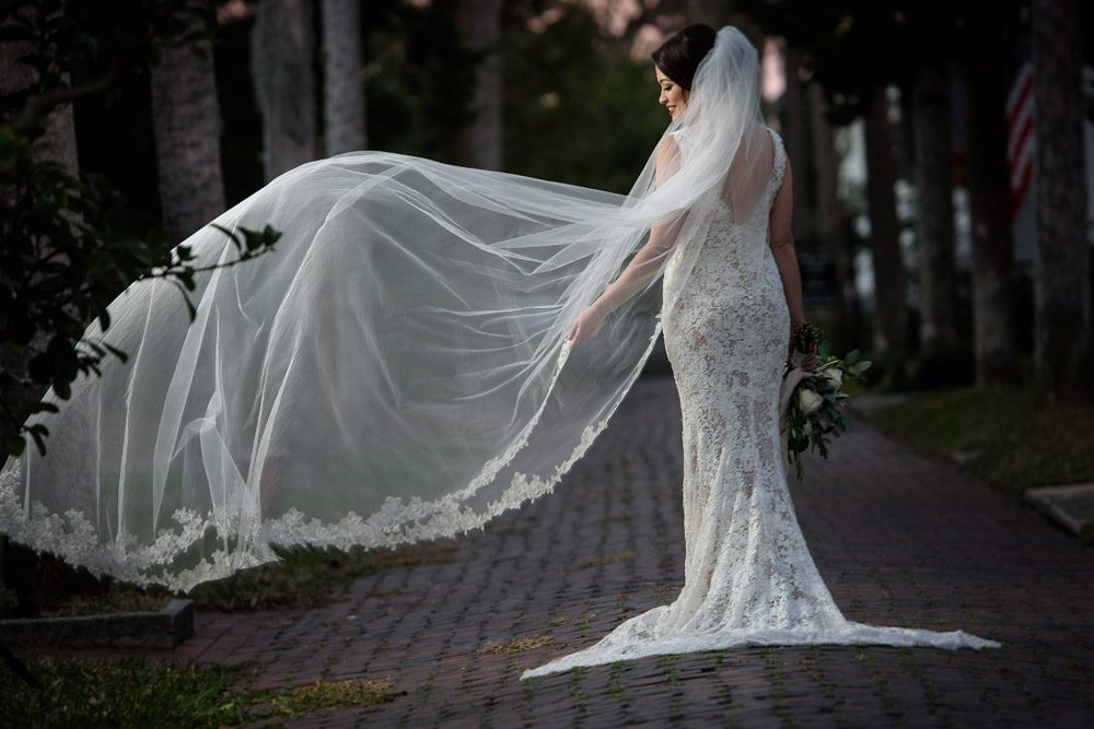 Bridal Portrait | Lightner Museum Wedding | St. Augustine, Florida