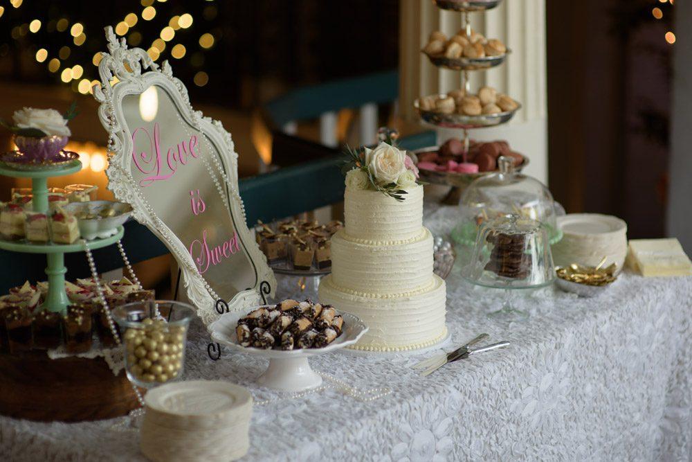 Sweets Table | Lightner Museum Wedding | St. Augustine, Florida