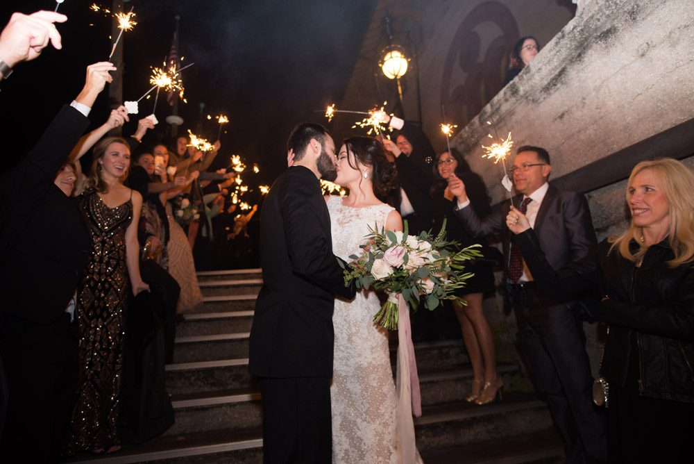 Grand Exit | Lightner Museum Wedding | St. Augustine, Florida
