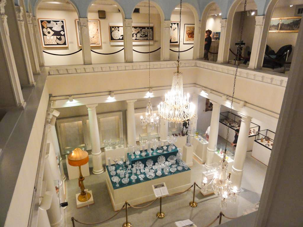 Exhibits at The Lightner Museum in St. Augustine Florida