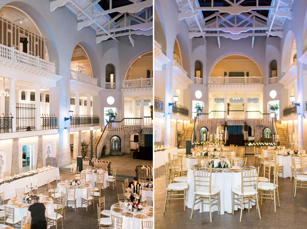 Wedding reception in the Historic Pool of the Lightner Museum | | 5 REASONS THE LIGHTNER MUSEUM IS ONE OF THE MOST UNIQUE WEDDING VENUES IN ST. AUGUSTINE