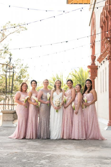St. Augustine Bridal Party Pictures | Kristen and Mike | A Love Story Written in the Stars