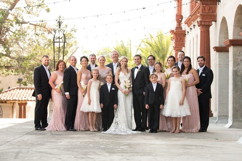 St. Augustine Wedding Party Pictures | Kristen and Mike | A Love Story Written in the Stars