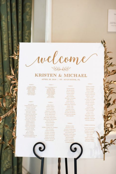 Wedding ceremony at the Lightner Museum | Kristen and Mike | A Love Story Written in the Stars