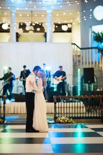 Private last dance at the Lightner Museum | Kristen and Mike | A Love Story Written in the Stars