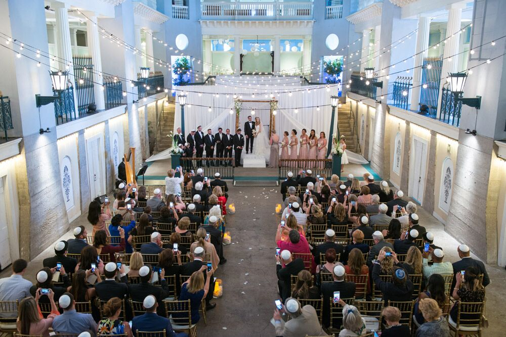 Indoor Wedding Ceremony in St Augustine | How to Best Utilize the Venue Spaces at the Lightner Museum For Your Wedding