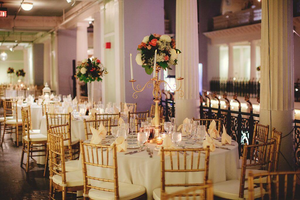 Wedding Reception in St. Augustine at Lightner Museum
