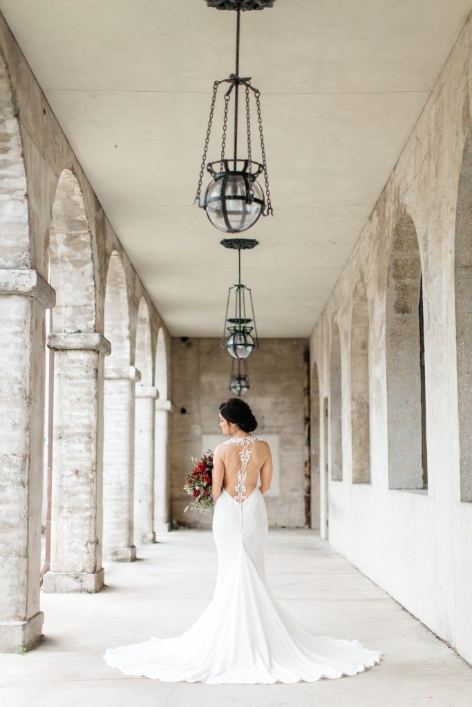 Bridal Party Photos in St. Augustine | How to Best Utilize the Venue Spaces at the Lightner Museum