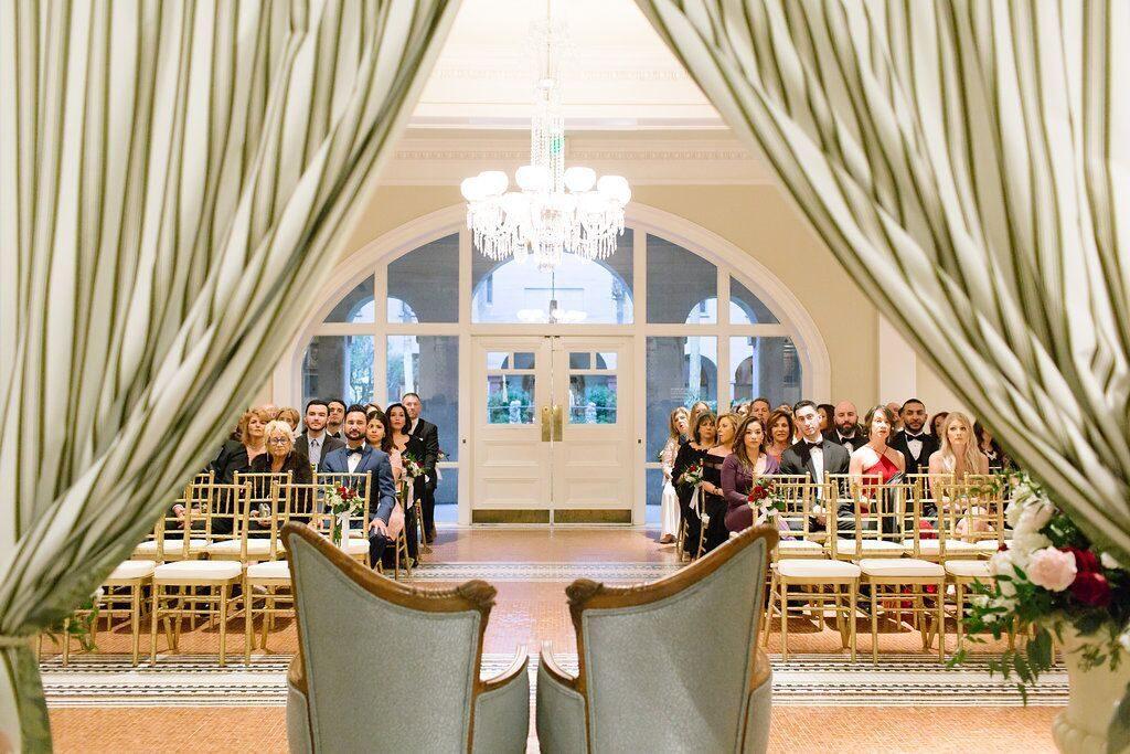 Historic Venue, Indoor Wedding Ceremony in St. Augustine