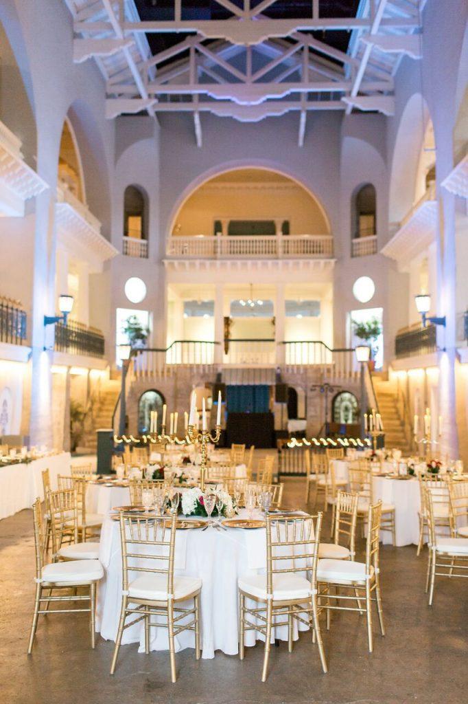 Lightner Museum Wedding Reception Dinner