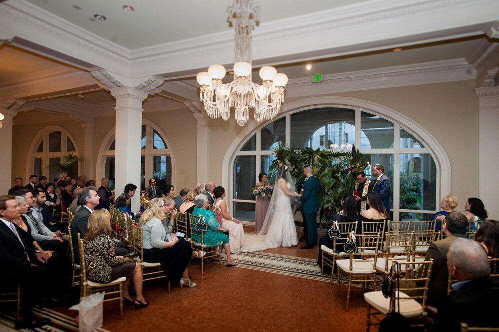 Indoor Wedding Ceremony St. Augustine Historic Venue