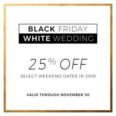 Black Friday Wedding Deals
