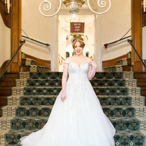 Wedding Portrait at the Lightner Museum St. Augustine