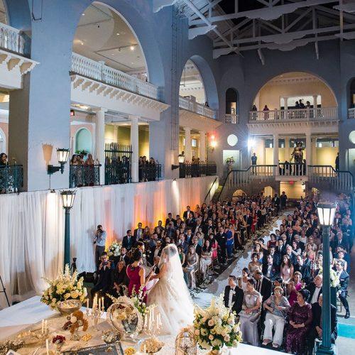 St Augustine wedding ceremony venue the Lightner Museum