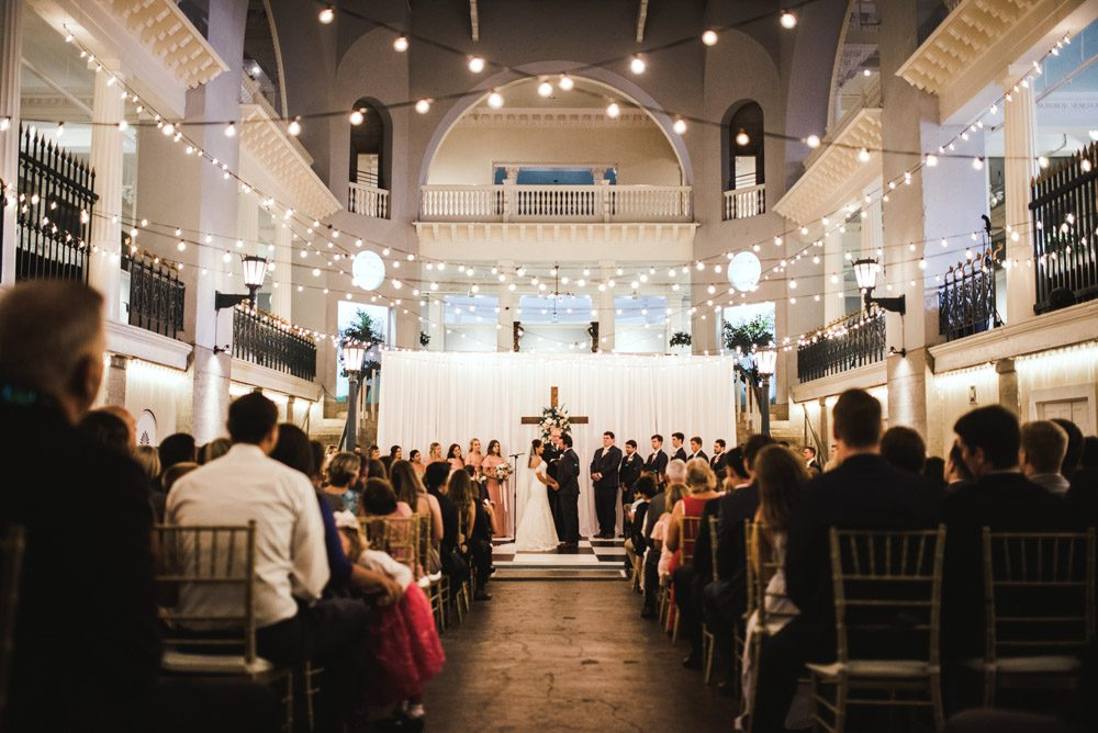 Wedding Ceremony | Brooke + Blake | A Magical St. Augustine Wedding at the Lightner Museum