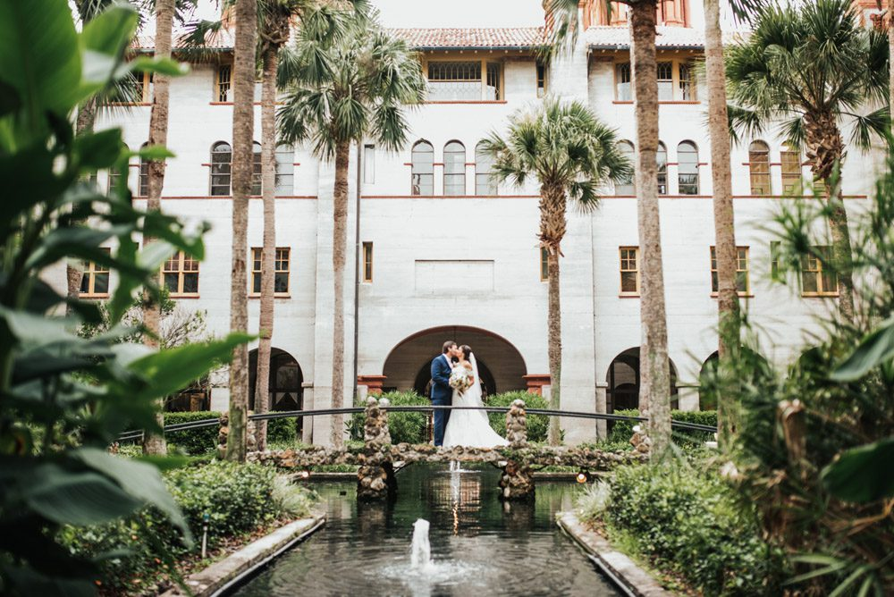 Courtyard at the Lightner Museum | Brooke + Blake | A Magical St. Augustine Wedding at the Lightner Museum